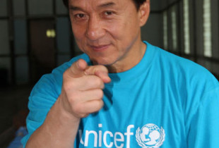 Photos: Jackie Chan visits trafficked children