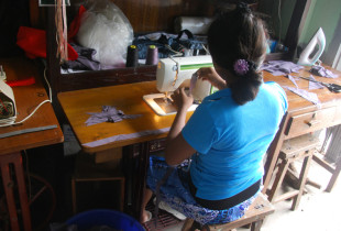 Photos: A stitch in time: street children learn a trade