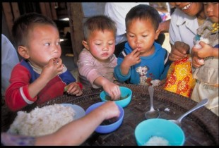Is malnutrition an issue in East Asia & Pacific region?