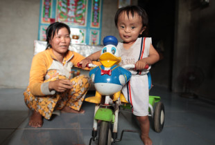 Children with disabilities overcome the legacy of Agent Orange