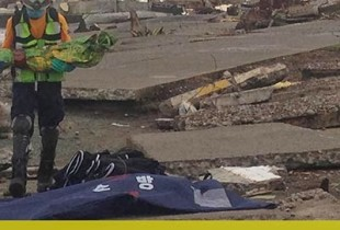 Haiyan Story: From Tacloban – A little girl in a white dress