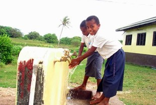 Water, sanitation and hygiene are essential for the health of our children