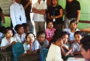 Five questions to Daniel Toole from Rakhine, Myanmar