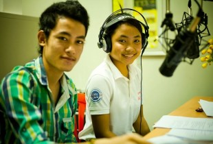 Youth radio: getting the message out loud and clear