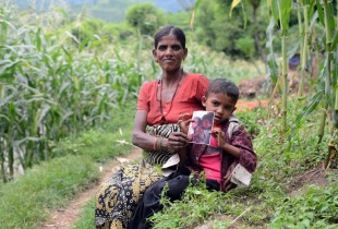 Helping severely malnourished children in Nepal