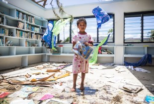 Getting back to school after Cyclone Winston