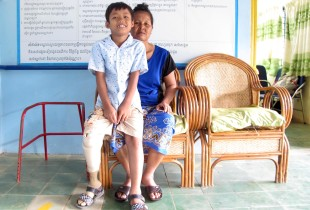 Children and disabilities: Changing attitudes in Cambodia