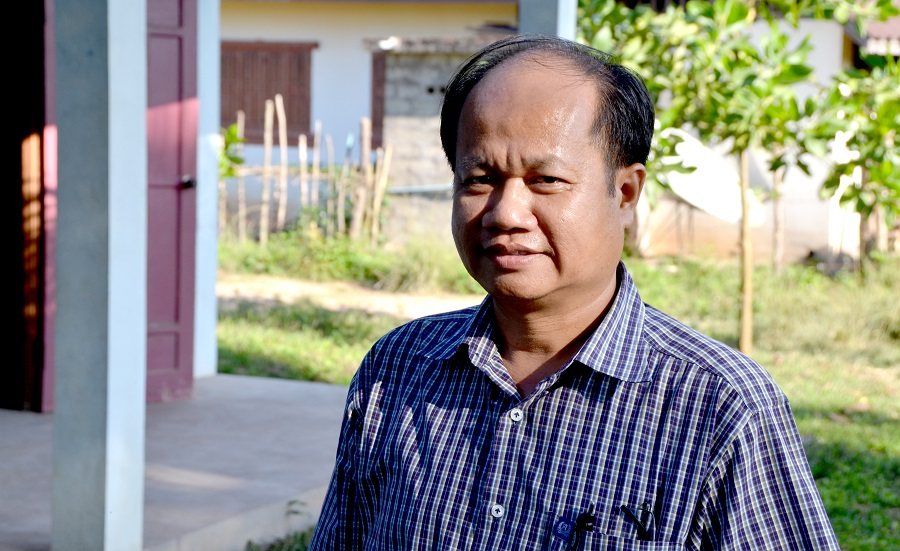 Mr Visth Khamlusa, Deputy Director of the Lao Centre of Information and Education for Health