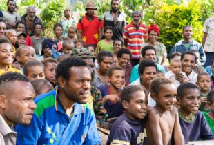 """""""Mr Beckham picked me!"""" – An experience of a lifetime in Papua New Guinea"""