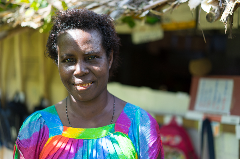 Hortence Kiroha started an early learning centre in her back garden.