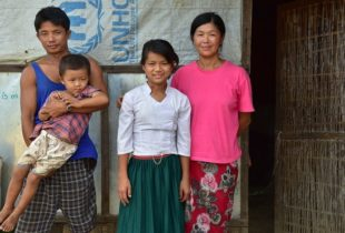 Field of dreams: children in a Kachin camp hope for peace