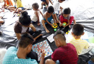 Child-friendly spaces support healing of displaced children in war-torn Marawi, Philippines