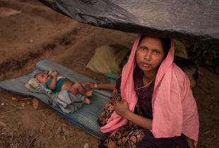 UNICEF supporting children affected by violence in Rakhine, Myanmar