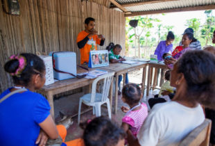 Helping families to combat malnutrition in Timor-Leste