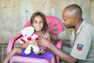 Parenting education brings fathers to the front in Timor-Leste
