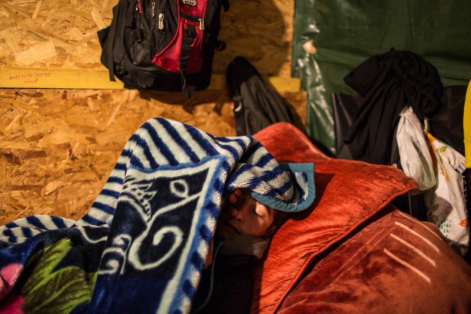 Mirzal, 16, arrived in Calais alone in 2015