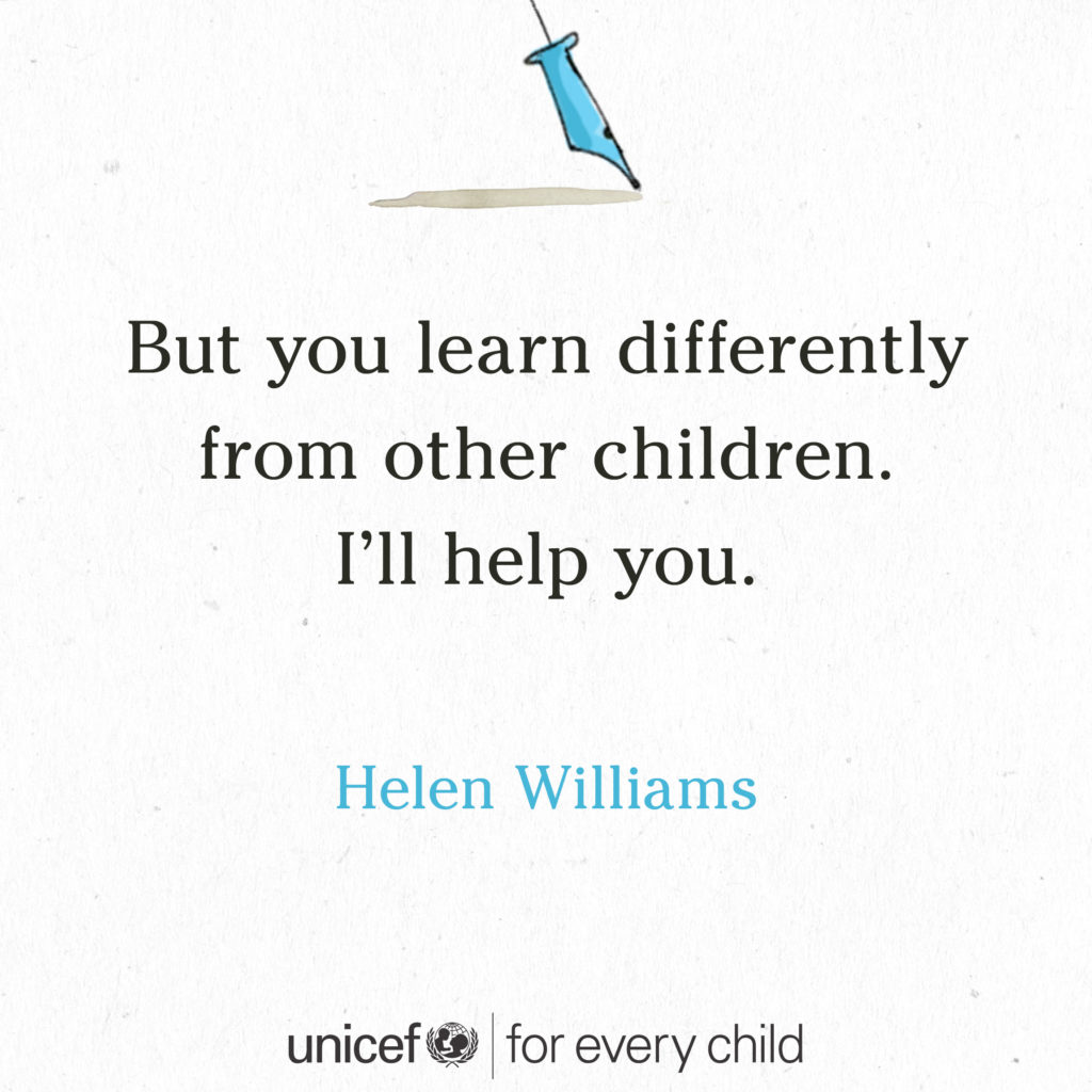 #foreverychild tiny stories helen williams