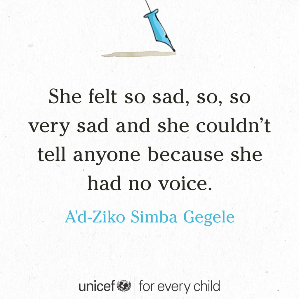 tiny story for every child by A'd-Ziko Simba Gegele