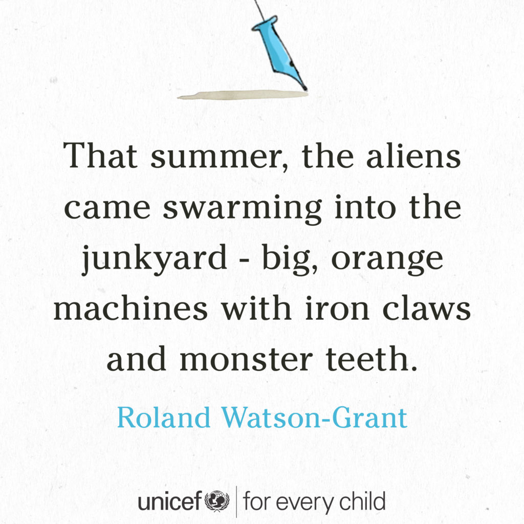 roland watson-grant tiny story for every child