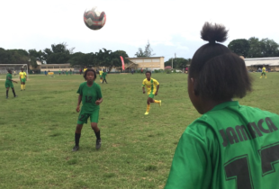 Jamaica hosts historic unified female football match
