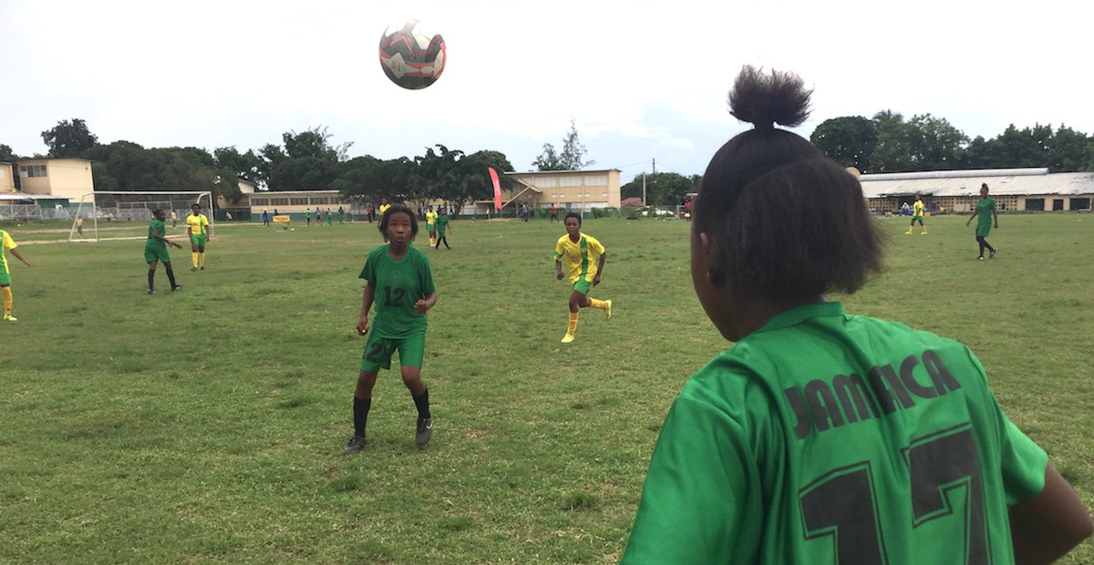 special olympics jamaica excelsior high school unified football unicef
