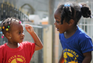 Jamaica's smallest students go back to school