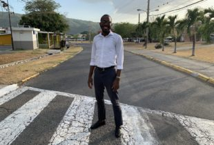 Mentor for youth in correctional facilities, Jerome Palmer, photographed at the University of the West Indies (UWI), Mona where he is currently studying for a BSc in international relations.