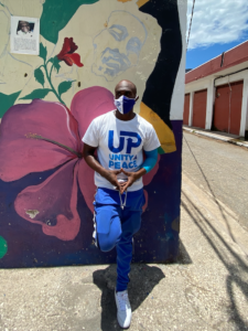 Alphanso Spencer, Parade Gardens Community Coordinator for the UP Unity & Peace programme
