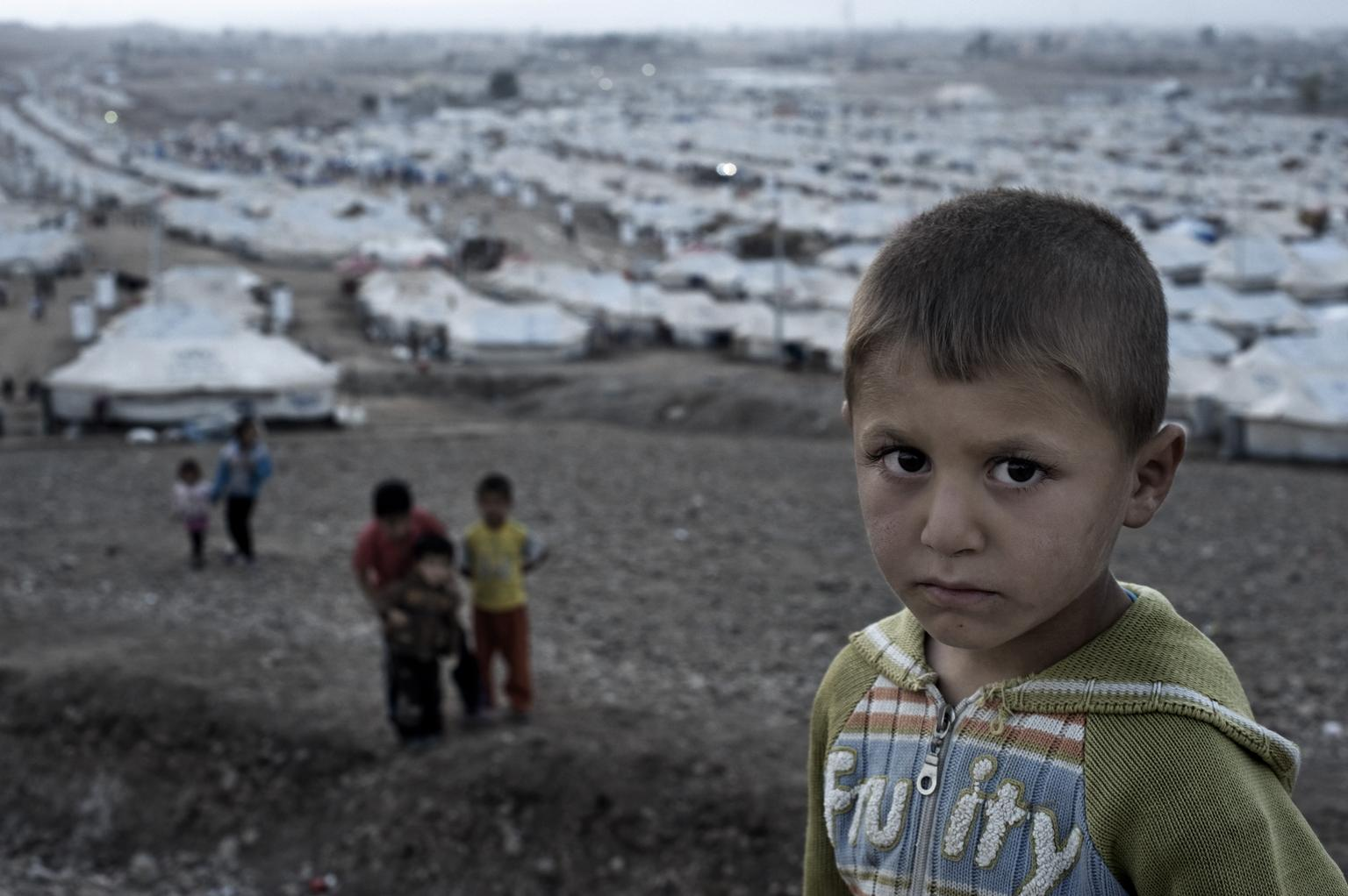 Over one million Syrian children are living as refugees.