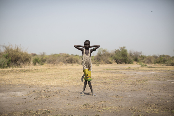 An estimated 380,000 children in South Sudan have been displaced internally since fighting broke out anew in December 2013.