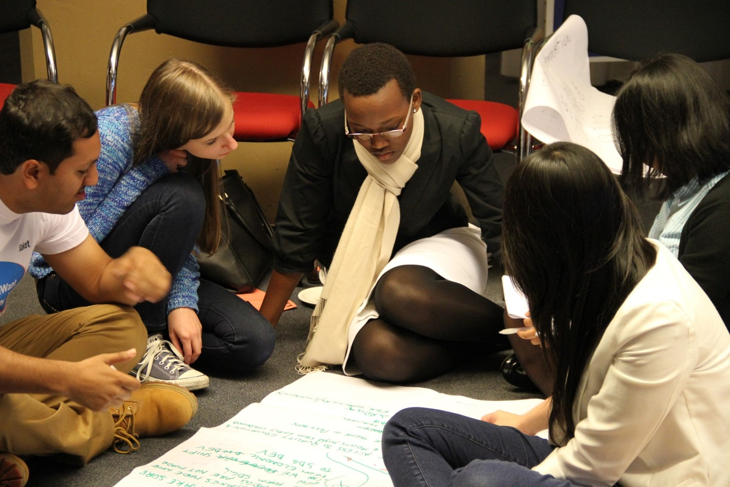 WorldWeWant consultation in Bonn brings together youth from four continents