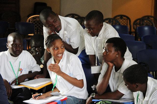 For the Forum of Hope 52 children, aged 13 to 17, from seven countries of the Great Lakes region gathered in Burundi.