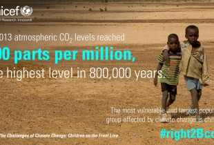 Climate change — a children's rights perspective
