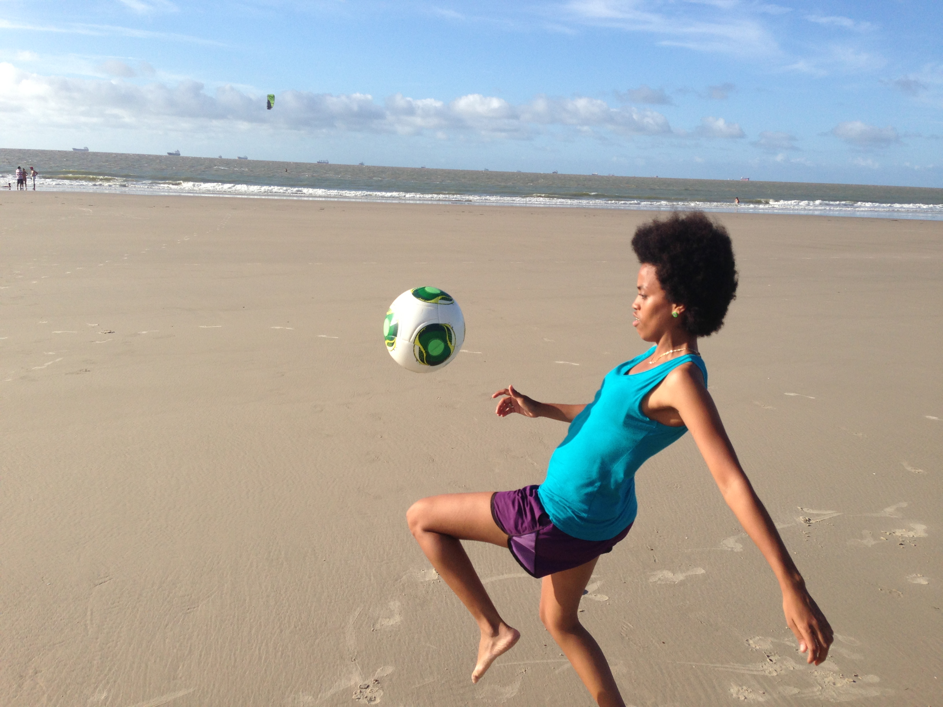 Diane believes in the power of football to transform children's lives in a positive way