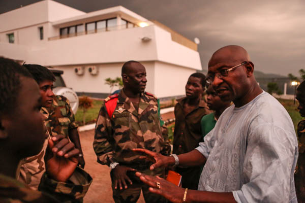 UNICEF CAR Representative, Souleymane Diabate, has played an important role in negotiations with armed groups.