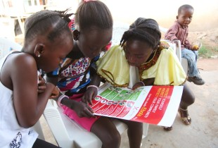 Bringing the Ebola prevention message to communities in Liberia