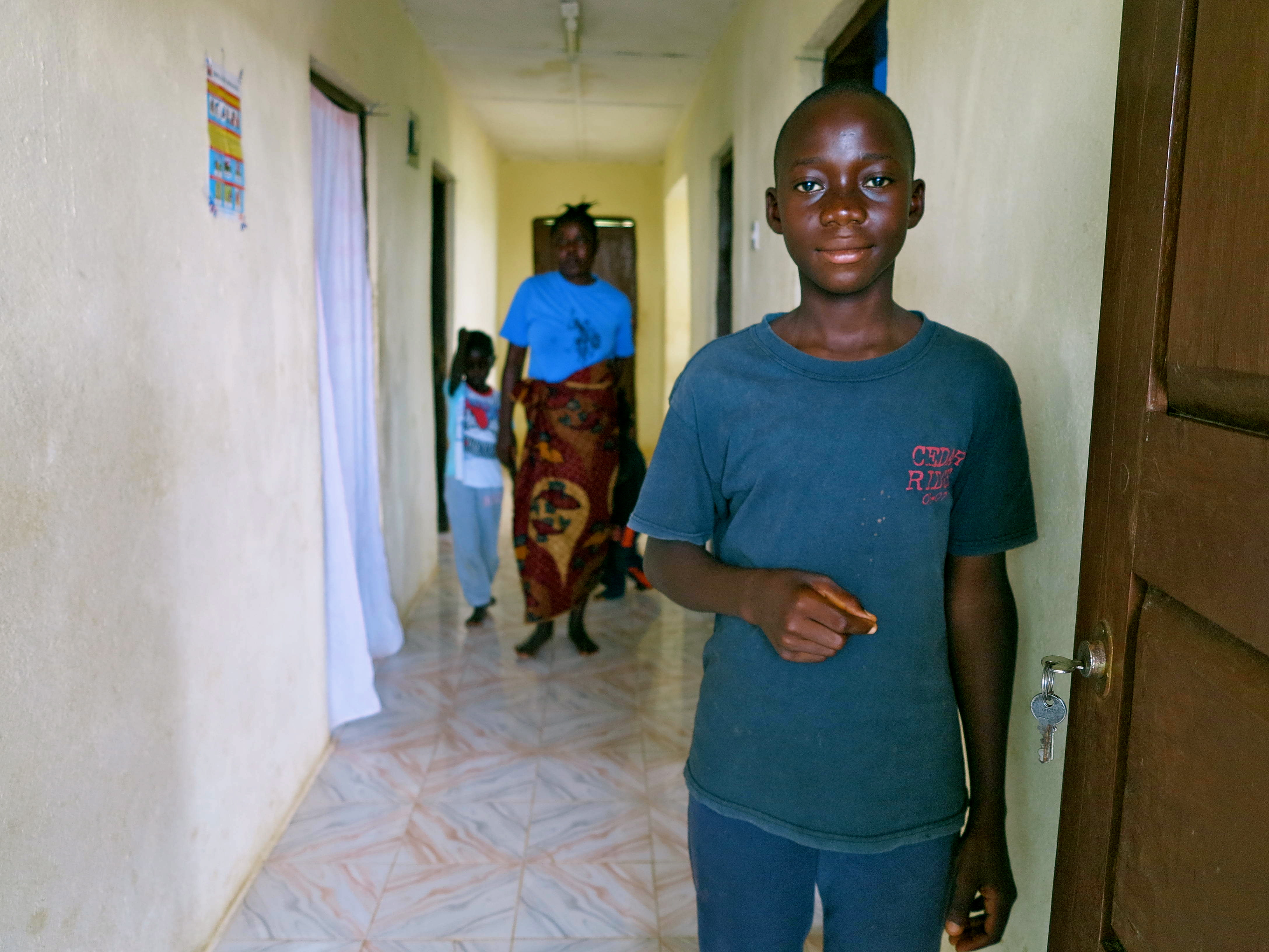 13 year-old Francis has lost his sister, parents and grandmother to Ebola.