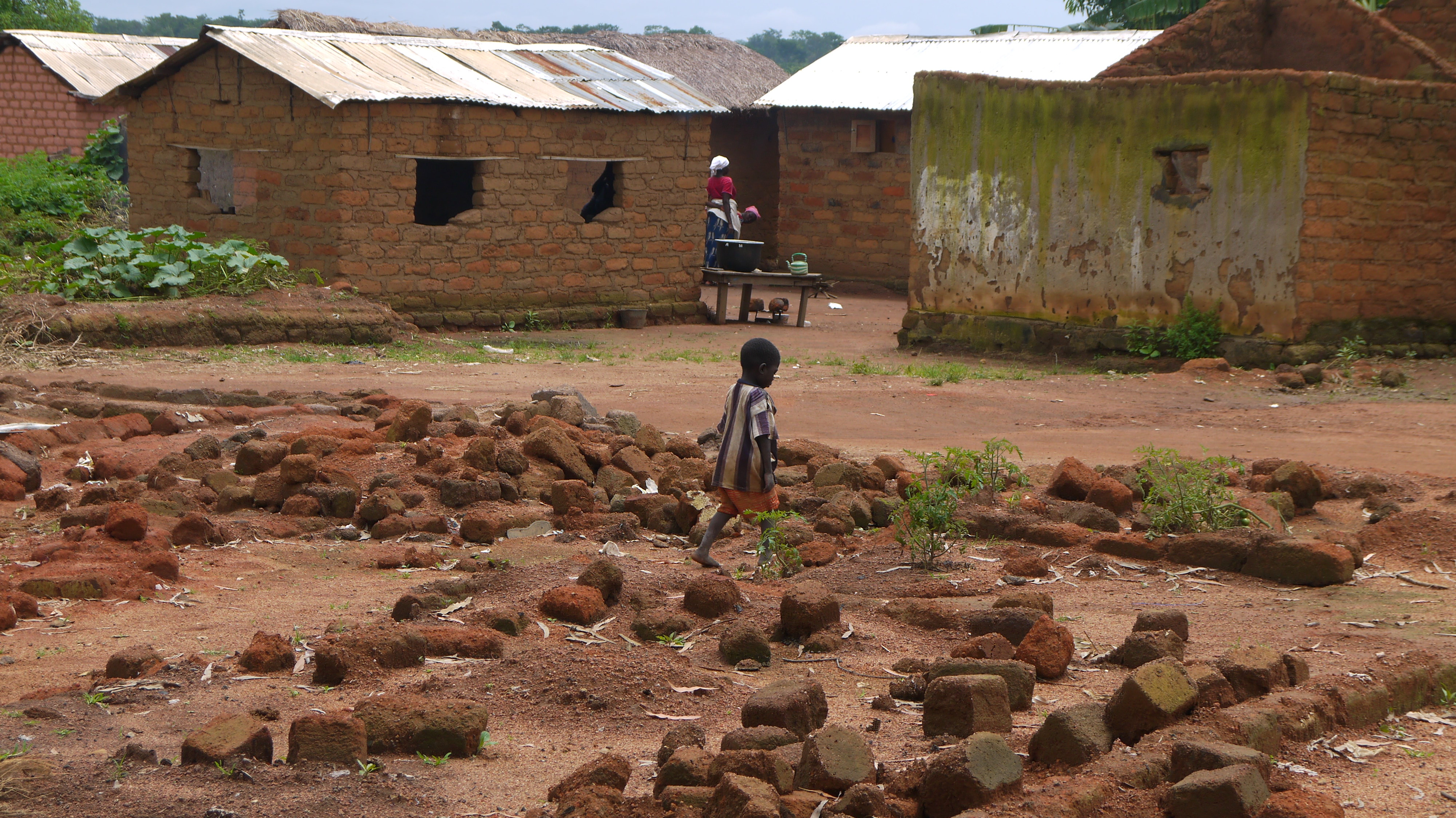 3000 houses in Bohong in the west of CAR were destroyed and burnt during the height of the violence (2)