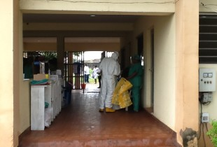 Nigeria – life inside the 'Ebola house'