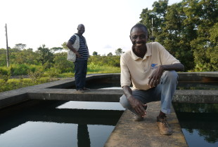On a wire and a prayer – restoring water supply in CAR