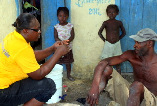 A trek to eliminate cholera deep in the heart of Haiti