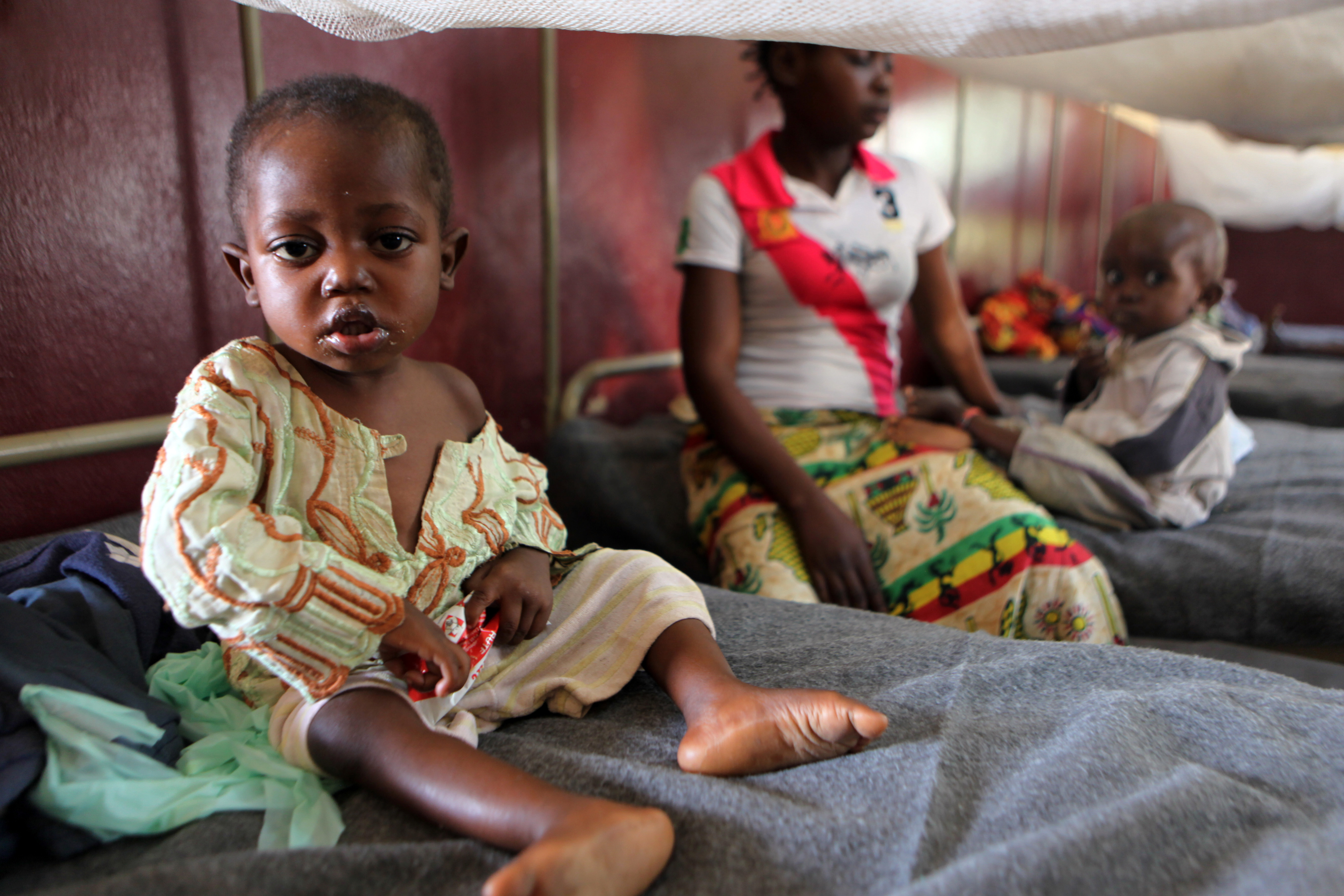 There were major concerns about the rate of severe malnutrition after two years of violence in CAR.