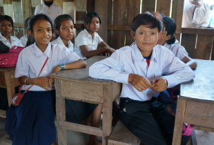 A volunteer teacher brings education to remote Cambodia