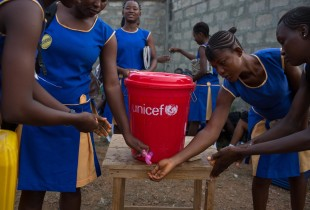 Stamp out Ebola, but let's keep the handwashing