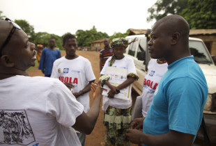Responding to Ebola by addressing rumors and resistance