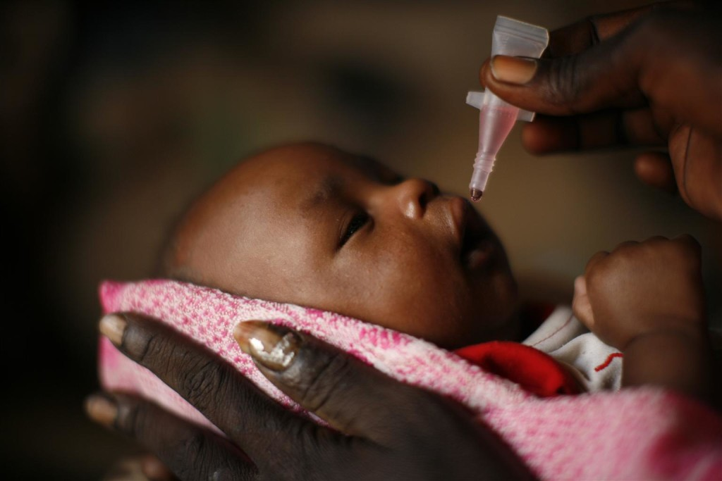 A great day for Africa: polio nears its end - UNICEF Connect
