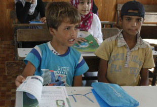 The power of one school bag in Syria