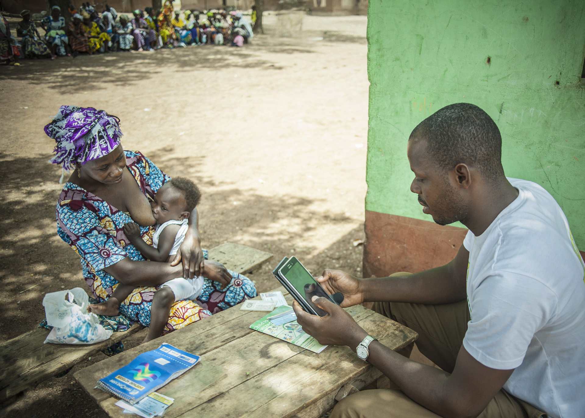 The LEAP 1000 cash transfer programme is administered by the Government of Ghana and targets households with women who are pregnant or have children under the age of 12 months.
