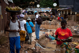 Help for Sierra Leone's flood victims