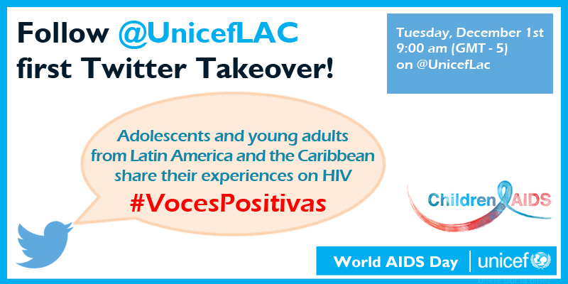 UNICEF LAC Twitter takeover